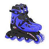Elektra In Line Adjustable Boots Blue Medium 13J - 3
