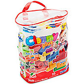 Clementoni Clementoni Clemmy Plus Soft Building Bricks- 30 Piece Bag