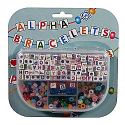 Alphabet Bead Bracelet Pack