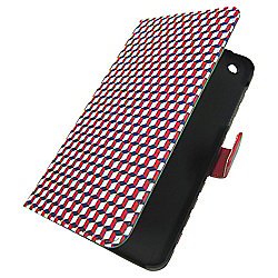 Tesco hudl 2 Folio Tablet Case - Central Park (Red, blue and white)