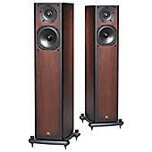 CASTLE KNIGHT 3 SPEAKERS (PAIR) (BLACK OAK)