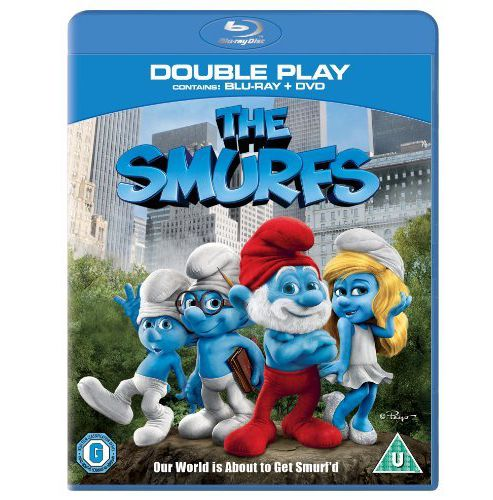 Smurfs Bluray, Double Play