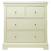 Porto 4 Drawer Chest, White