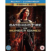 The Hunger Games - Twin Pack Bluray