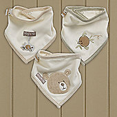Natures Purest Hug Me Triangular Dribble Bibs (3pk)