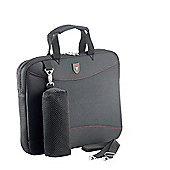 Falcon 15.6 inch laptop sleeve with detachable shoulder strap