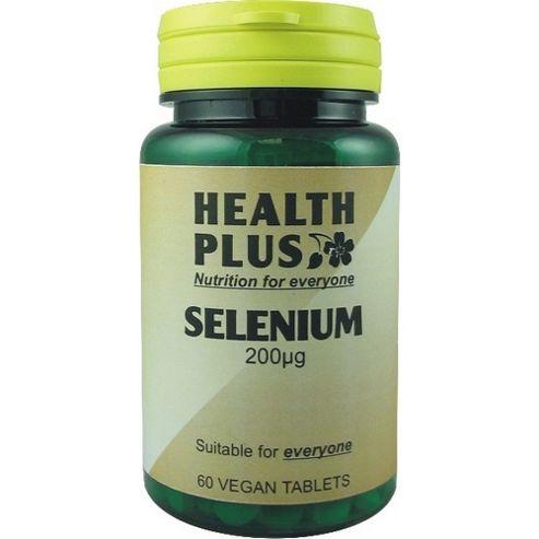 Health Plus Selenium 200-ugVegan 60 Veg Tablets