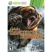 Cabelas Dangerous Hunts 2013 Stand Alone - Xbox-360