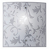 Paul Neuhaus Samant One Light Wall Light in White