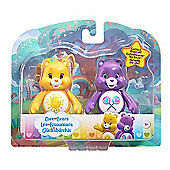 Care Bears Figure Twin Pack - Funshine Bear & Share Bear