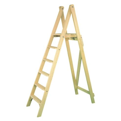 Heavy Duty 6 Tread Class 1 Timber Platform Steps