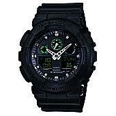 Casio G-Shock Mens World Time Stopwatch Countdown timer Watch GA-100MB-1AER