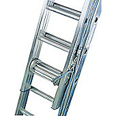 Industrial 6.5m (21.3ft) Rope Operated Double Extension Ladder