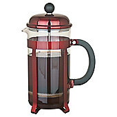 Tesco Cafetiere Red  Metallic, 12 Cup