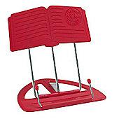 K&M Red Classic Desktop Music Stand