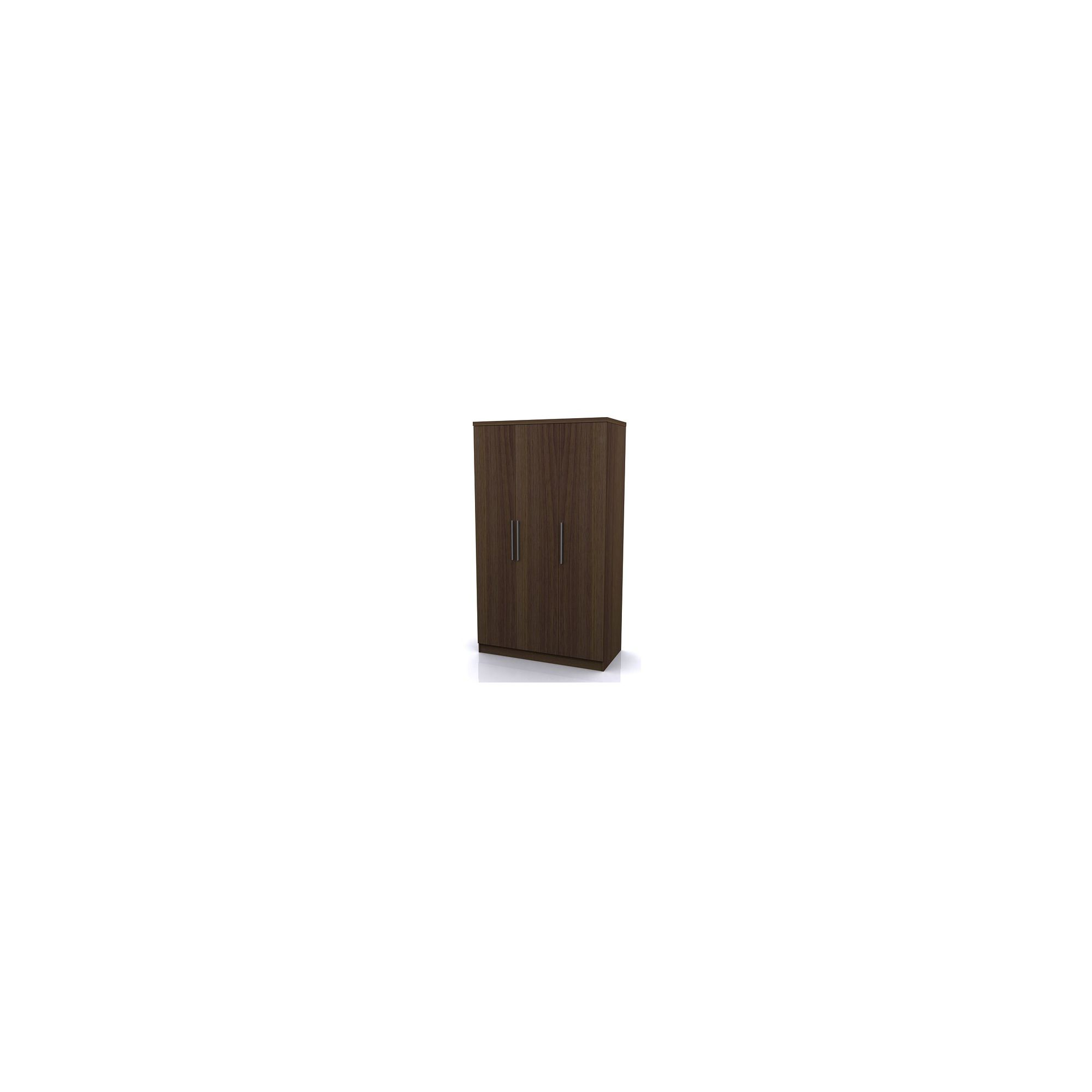 Altruna Manhattan Three Door Robe - Walnut at Tesco Direct