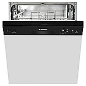 Hotpoint LSB 5B019 B  Fullsize Built-in Dishwasher A+ Energy Rating Black