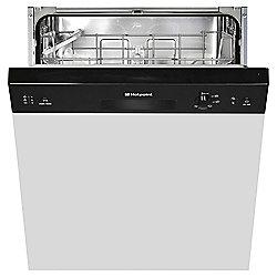Hotpoint Built-In Dishwasher, LSB5B019B, Black
