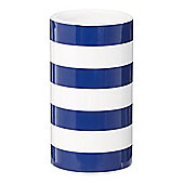 Linea Ceramic Striped Tumbler In Blue