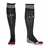 2011-12 Liverpool Adidas Away Football Socks - Black
