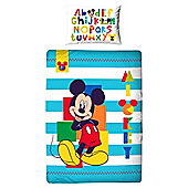 Mickey Mouse Junior Duvet Boo