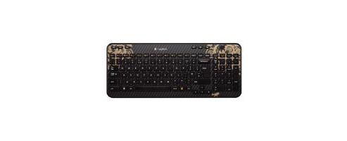 Logitech K360 Wireless Keyboard (Victorian Wallpaper) - UK English CBID:1540762