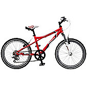 "Dawes Redtail Red/White 13/20"" Kids' Bike"