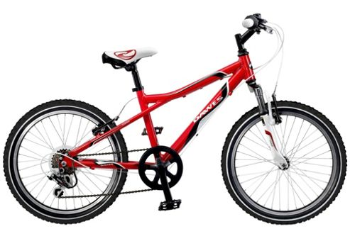 Dawes Redtail Red/White 13/20 Inch Kids Bike
