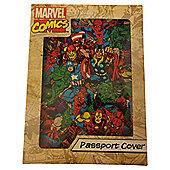 Marvel Comics Retro Passport Holder