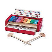 Melissa & Doug Wooden Learn-to-Play Xylophone