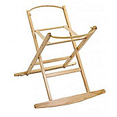 Dormouse Deluxe Rocking Moses Basket Stand (Natural)