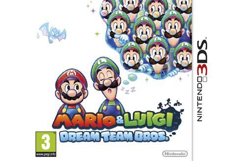 Mario And Luigi: Dream Team 3Ds