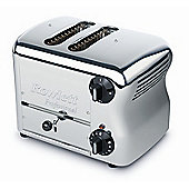 Rowlett Rutland Esprit 2 Slice Wide Bread Toaster with Bun Mode - Polished Stainless Steel