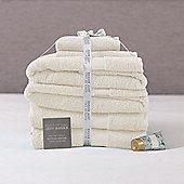 Jeff Banks 6 Piece Towel Set - Cream