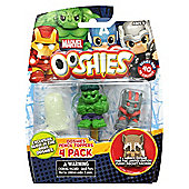"Ooshies ""Marvel Series 1"" Action Figure (Pack of 4) - Set 1"