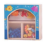 Bigjigs Toys Mini Jewellery Kit (Blue)