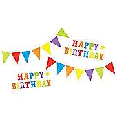 FunToSee Happy Birthday Wall Stickers