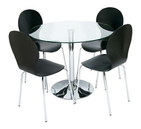 Buy LEVV 5 Piece Dining Table Set Black From Our Dining Table Chair S