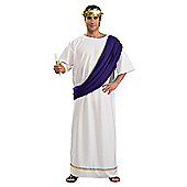 Rubies Fancy Dress - Roman Noble Costume - Adult Standard - up to UK Jacket Size 44in