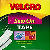 Velcro Sew N Sew 30mm - White