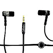 Ed Hardy In Ear Headphones - Black