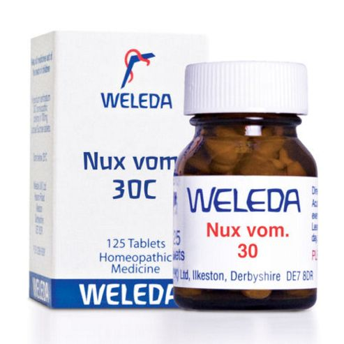 Weleda Nux Vom 30C 125 Tablets