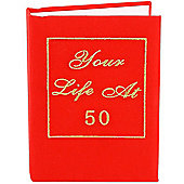 50th Birthday Photo Album - Your Life Book