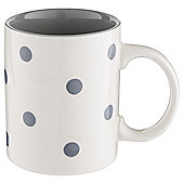 Tesco BeigeHandpainted Spot Mug Single