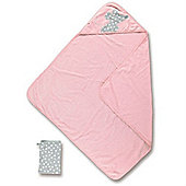 Baby Boum Youmi Hooded Towel & Wash Mitt (Candy)