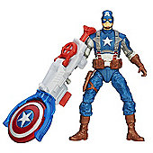 Captain America Super Soldier Gear- 9.5cm Shield Blitz Captain America