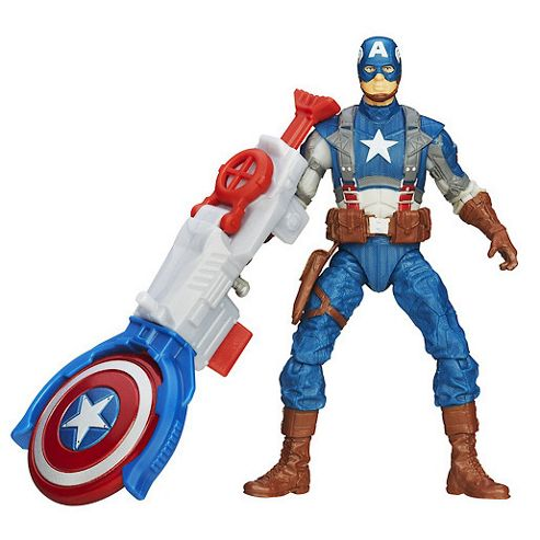 Captain America Super Soldier Gear- 9.5cm Shield Blitz Captain America