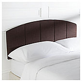 Seetall Padstow Headboard Linen Effect Brown King