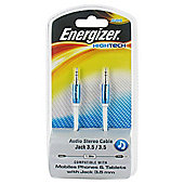 Energizer High Tech - 3.5mm Audio Jack Cable White