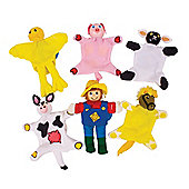 Bigjigs Toys BJ778 Farm Finger Puppets
